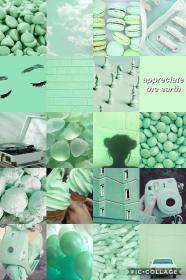aesthetic wallpapers collage mint pastel iphone hintergrund backgrounds retro paper aesthetics pastell fondos fondo pantalla tapete webstaqram wallpapercave