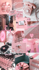aesthetic collage pink collages iphone wallpapers backgrounds pastel fondos rosa pantalla fondo girly phone most rose pinkaesthetic aestheticwallpaper moodboard retro