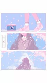 aesthetic pastel anime wallpapers soft cute iphone