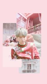 yoongi aesthetic pink wallpapers lonely edit