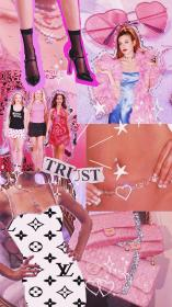 aesthetic vuitton 2000s louis clueless chanel mean wallpapers bling collage 2000 aesthetics backgrounds bad boujee parede papel glitter iphone retro