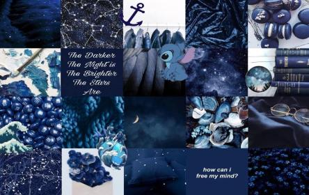 collage aesthetic desktop wallpapers laptop dark computer quotes backgrounds disney navy tumbral moodboard macbook wallpaperaccess potter harry wallpapercave stitch