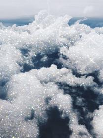 Clouds With Bling Aesthetic Laptop Wallpapers Wallpaper Cave