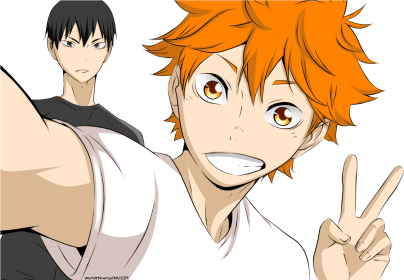 haikyuu hinata transparent aesthetic wallpapers shouyou peace haikyu anime release chapter date clipart ball scans raw toppng block spike spoilers