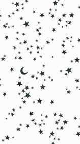 Black And White Aesthetics Stars Wallpapers Wallpaper Cave