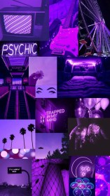 aesthetic grunge purple wallpapers 90s iphone neon nowhere