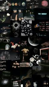 wallpapers collage aesthetic space