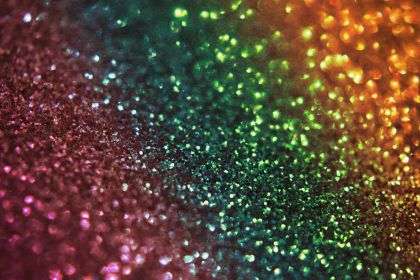 Aesthetic Rainbow Glitter Wallpapers Wallpaper Cave