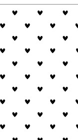 background hearts heart clean backgrounds hd iphone minimal mono wallpapers phone android cute patterns print polka screen binder