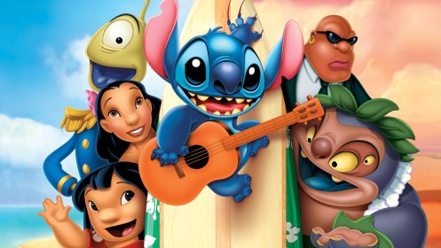 stitch lilo hd wallpapers cartoon ipad desktop backgrounds iphone wallpapertag mobile android