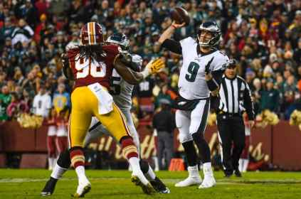 Redskins Eagles takeaways: Philadelphia blanks Washington
