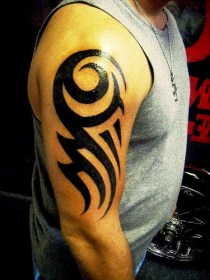 100's of Simple Tribal Tattoo Design Ideas Pictures Gallery