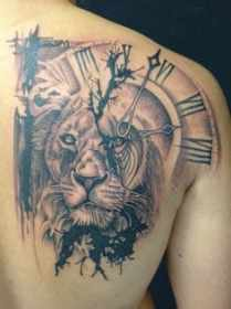 What Does Lion Tattoo Mean? Represent Symbolism