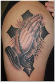 Top 25 Praying Hands Tattoos for the Faithful