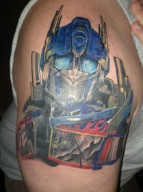 Transformers Tattoos Designs, Ideas and Meaning Tattoos