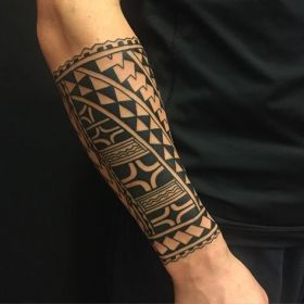 Tribal Forearm Tattoos Designs, Ideas and Meaning