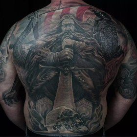 tattoo tattoos viking vikings designs nordic scandinavian meanings odin norse valkyrie mythology traditional symbols bloodline spine yggdrasil source journal