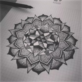mandala tattoo designs tattoos geometric dotwork meaning meanings mandalas drawing mysterious journal sunflower perfect cool different sacred doodle
