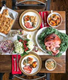 dinner ham christmas menu meal thekittchen traditional plan holiday recipes side parents memorable meals dishes survey entree glazed maple honey