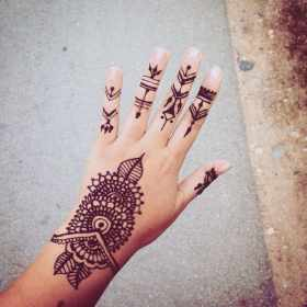 150 Best Henna Tattoos Designs (Ultimate Guide, February 2020)