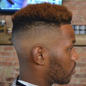50 Stylish Fade Haircuts for Black Men in 2021