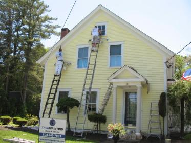 exterior painters painting winter projects repainting building complete johnwhye unique