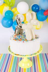 birthday party balloon animal cake boy boys themes baby animals themed happy decorations decor unique colorful