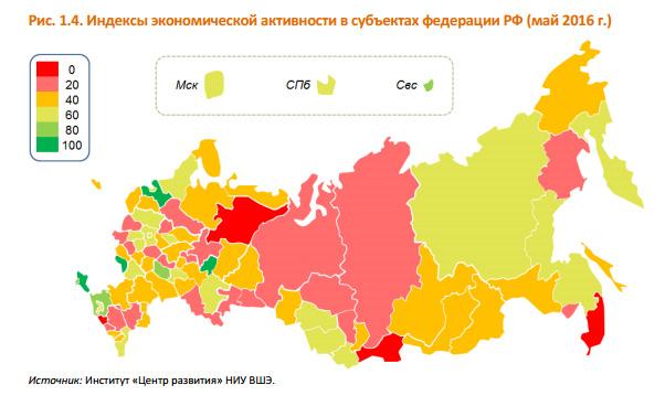 Новый Регион: Крымское экономическое чудо: в России в депрессию не впал лишь один регион