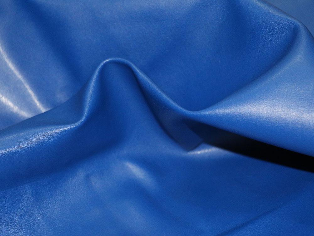 Royal Blue Faux Leather