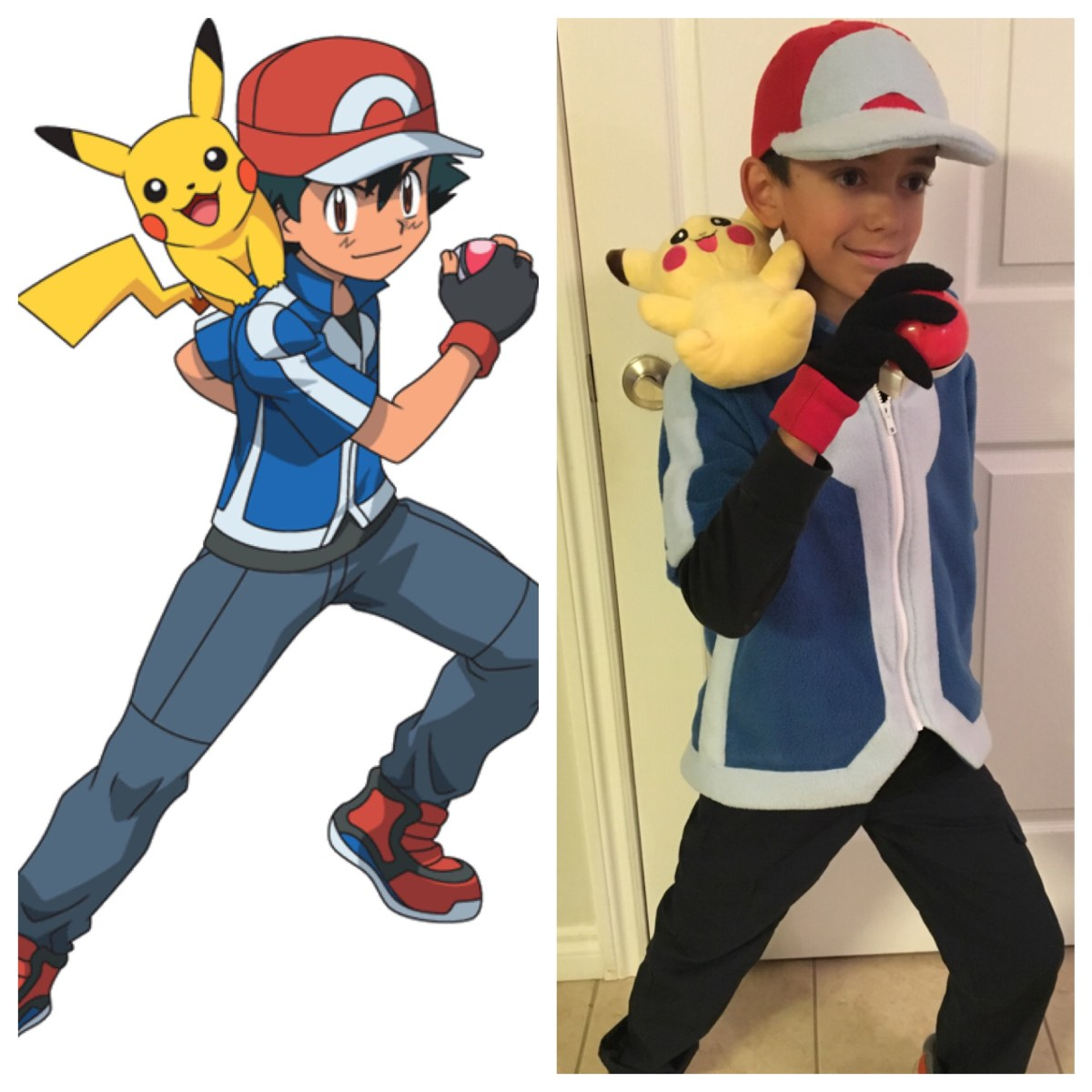 "DIY: Pokémon Trainer ""Ash Ketchum"" costume"