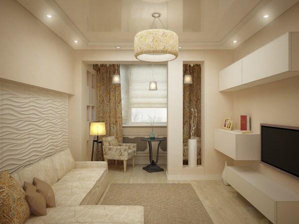 Дизайн гостиной 20 кв. м — фото интерьеров гостиной ...
