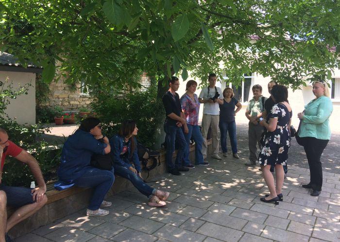 сбор во дворике фотомарафон