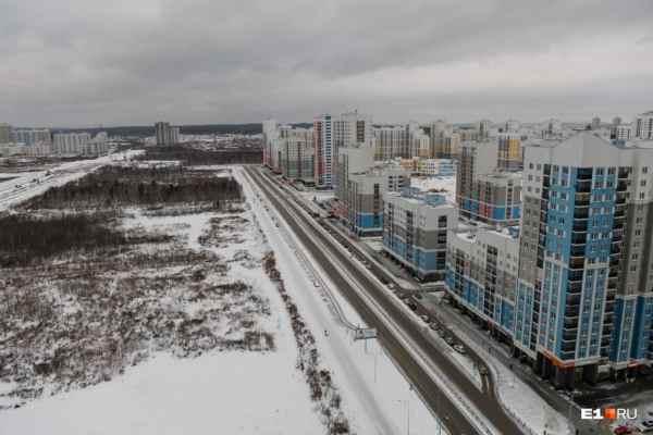 В администрации Екатеринбурга рассказали, когда построят дороги между Академическим и Широкой Речкой