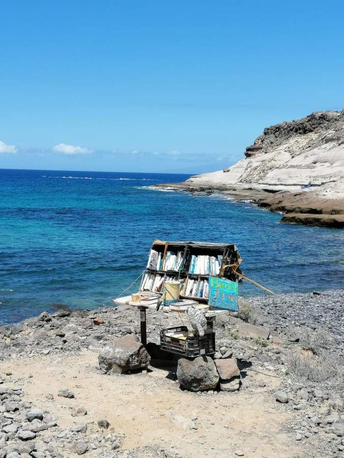 Top 7 Beach Libraries for light luggage, Tenerife, Canary Islands