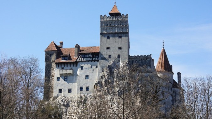 Marauder's Map: Bran Castle in Transylvania
