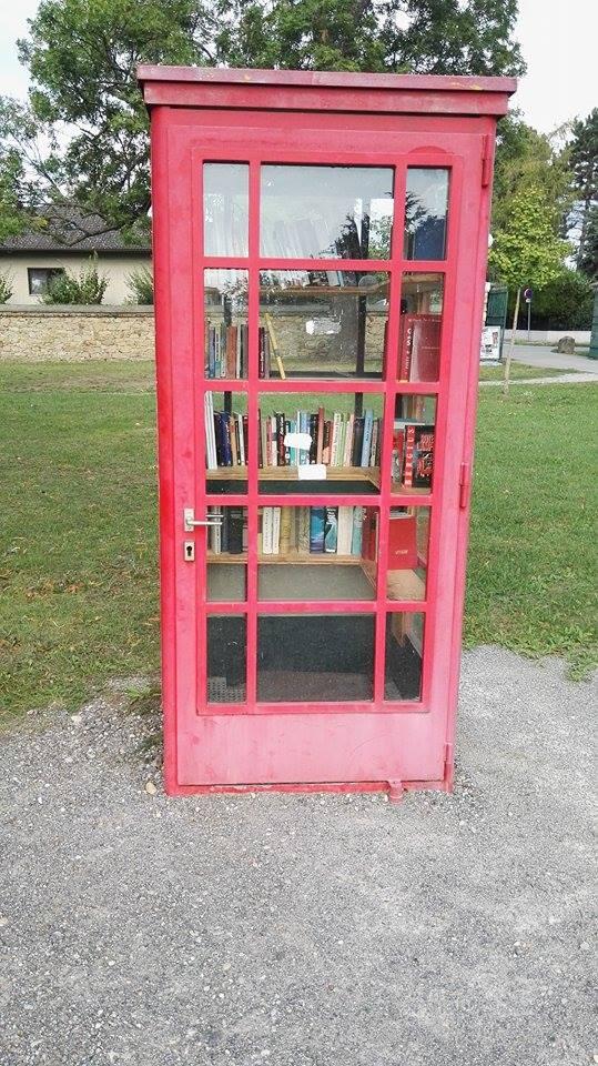 Bücher Telefonzelle Seyring