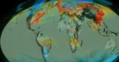 NASA показує як дихає Земля (відео)