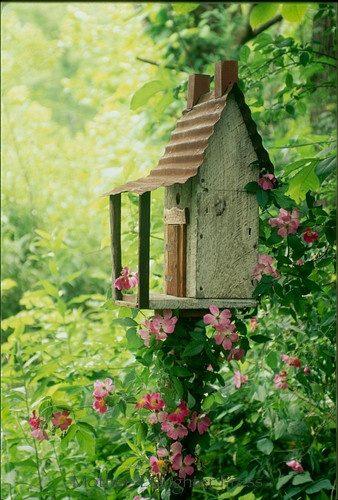 Восхитительные скворечники для вашего сада