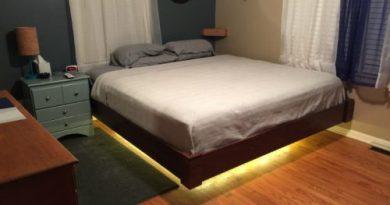 Летающая кровать... Вот что придумал муж-самоделкин!