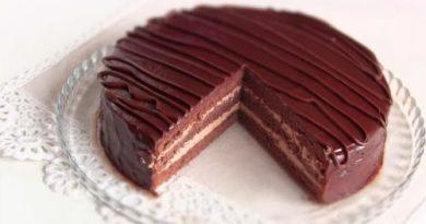 Торт «Прага» классический по ГОСту. Пошаговый рецепт