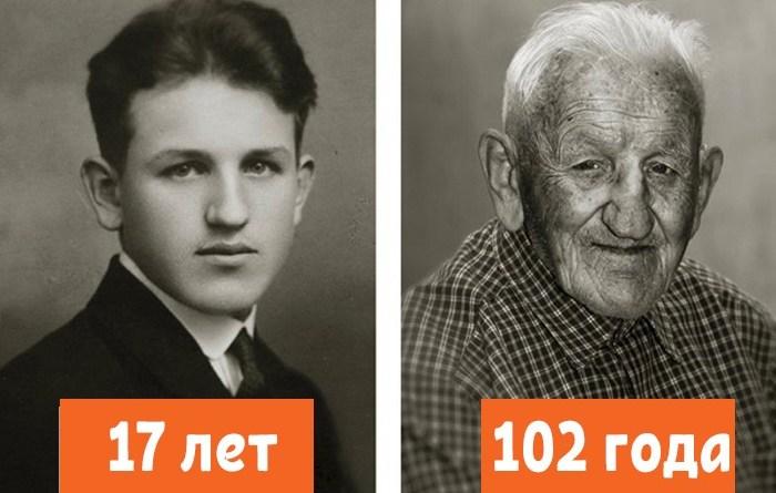 Время беспощадно! 13 контрастных портретов людей в молодости и сейчас.