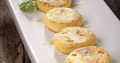 Сырники сладкие тушеные