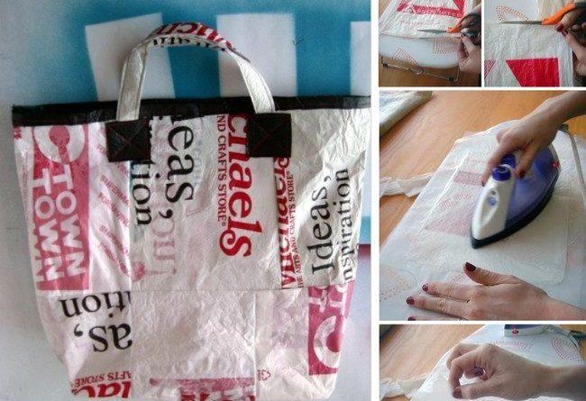 18 способов использования пластикового пакета