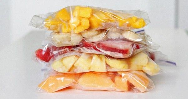 Продли лето — замораживай фрукты правильно!