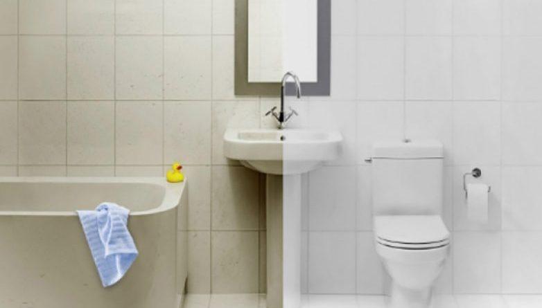 7 трюков эффективной чистки ванной комнаты!