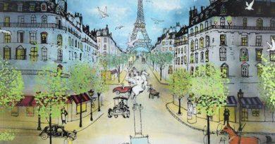 Трёхмерная витрография от художника Жана-Пьера Вейла