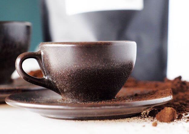 Посуда из кофейной гущи