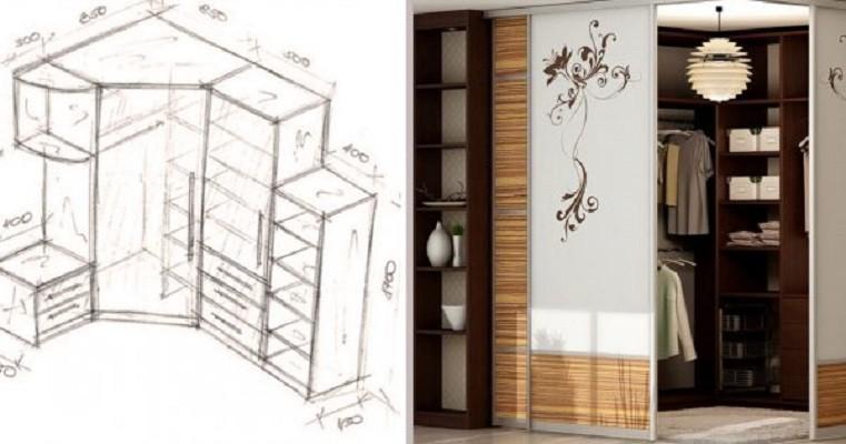 Крутые идеи с чертежами для создания шкафа твоей мечты.