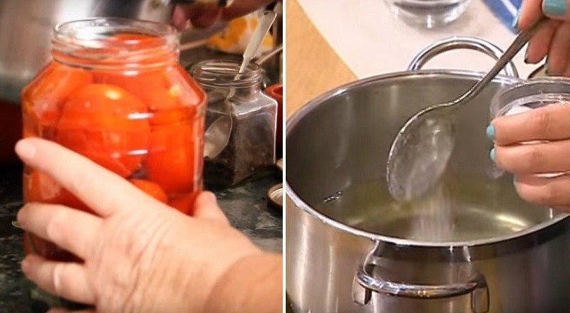 Маринованные помидоры без стерилизации