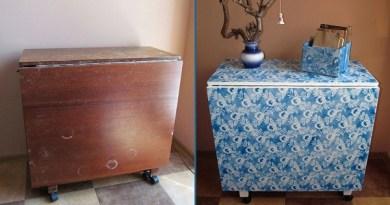 Как обновить старую мебель - 16 нестандартных идей переделки
